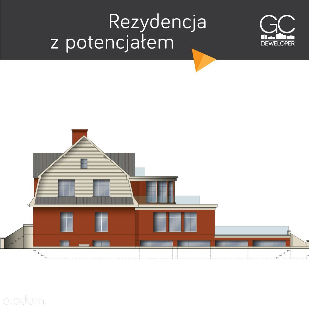 Willa Różanka - Dom w rozbudowie ul.Czeska