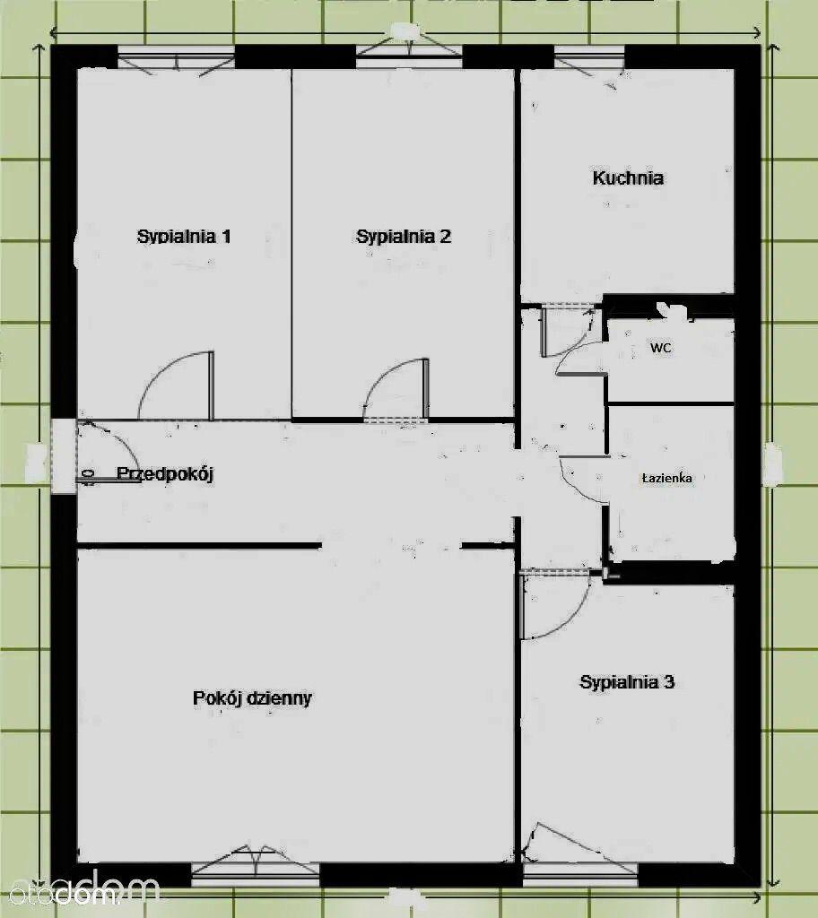 Trzebnica - 4 pokoje, 74m2