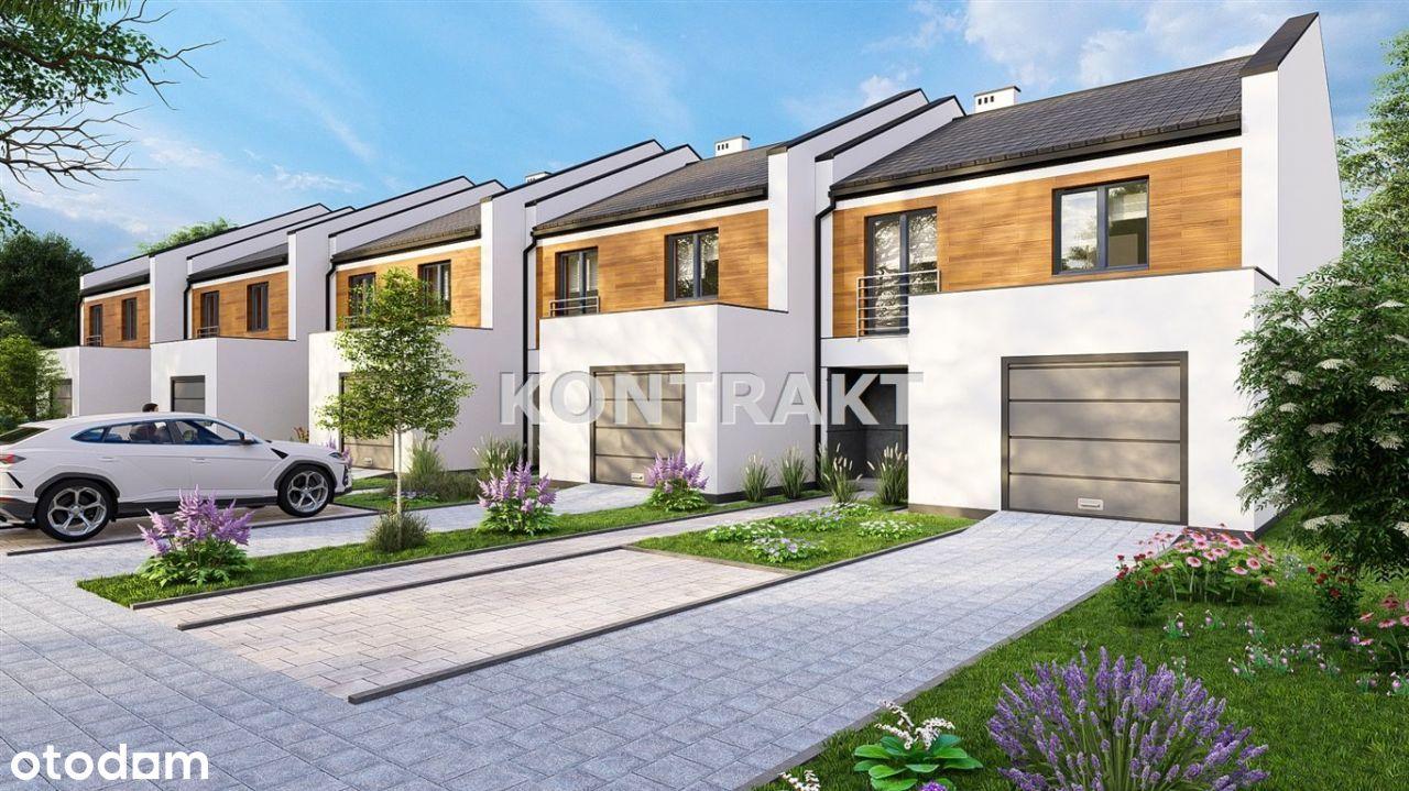 Nowe domy szeregowe w Pszczynie ul. Chopina