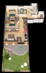 Apartament nou cu gradina 3 camere Ared Imar COMISION 0%