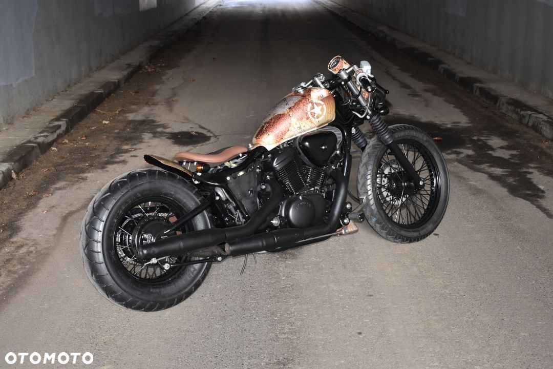 Honda VT Shadow vt 600 Flame Custom Bobber cafe - 15