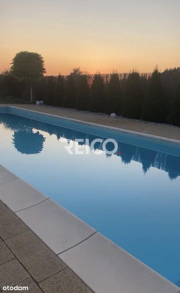 Dom z basenem, domek dla gości 6ha działki las