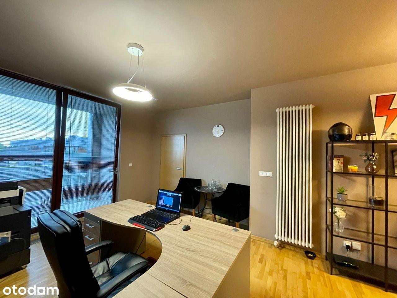Wyposażone biuro, Triton, 2 Balkony, M3, recepcja!