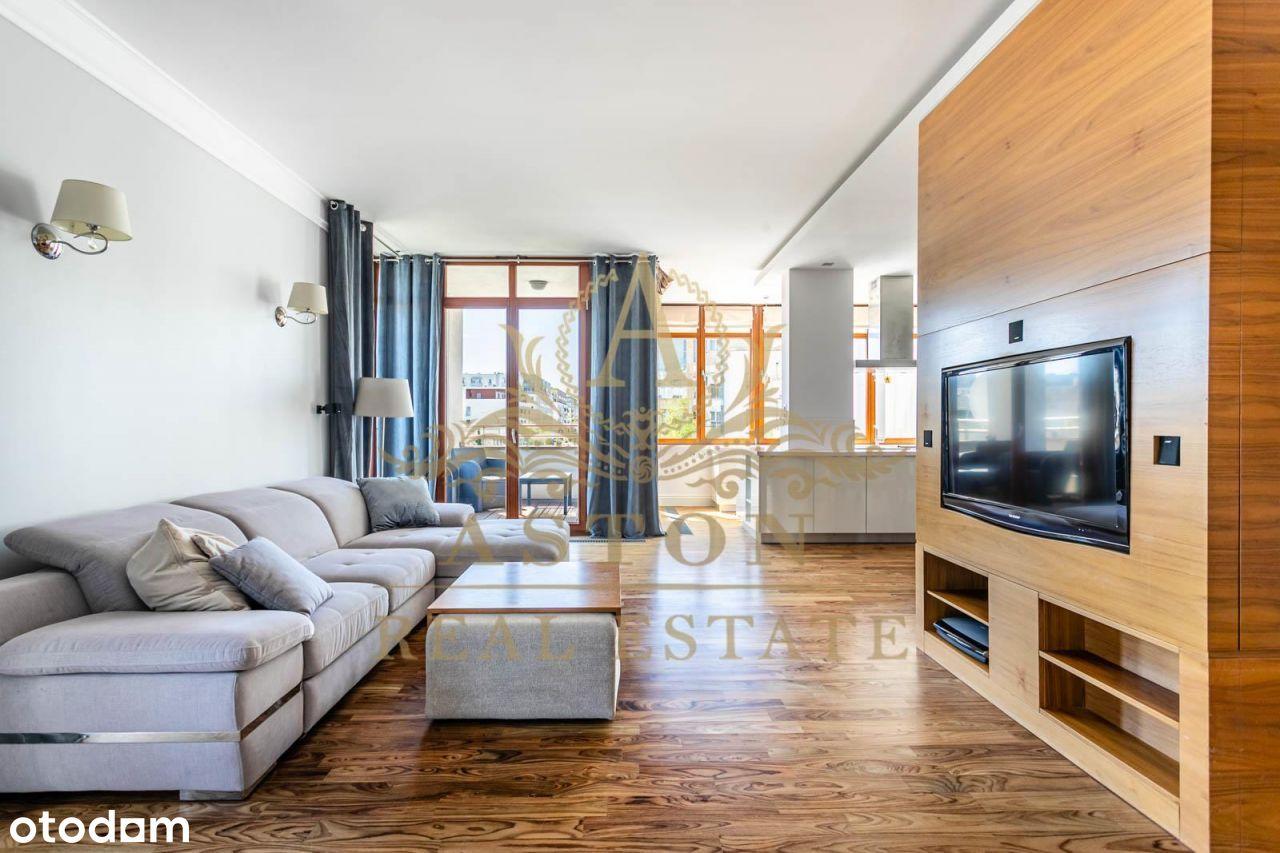 Luksusowy apartament na osiedlu Marina Mokotów