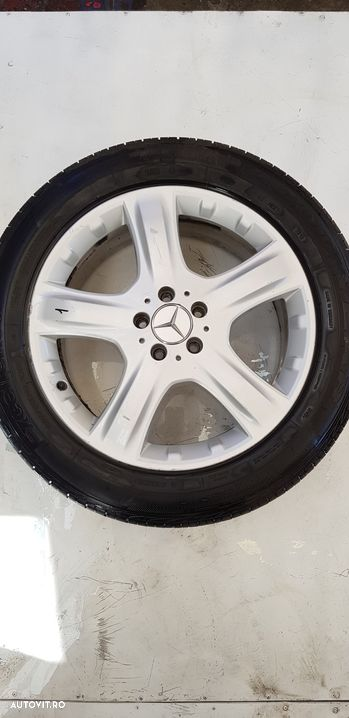 Janta aliaj set 5x112 ,r19 ,vara ,uzate  Mercedes-Benz ML / M-CLASS  - fabricatie:  2005 > ML 320 C - 10