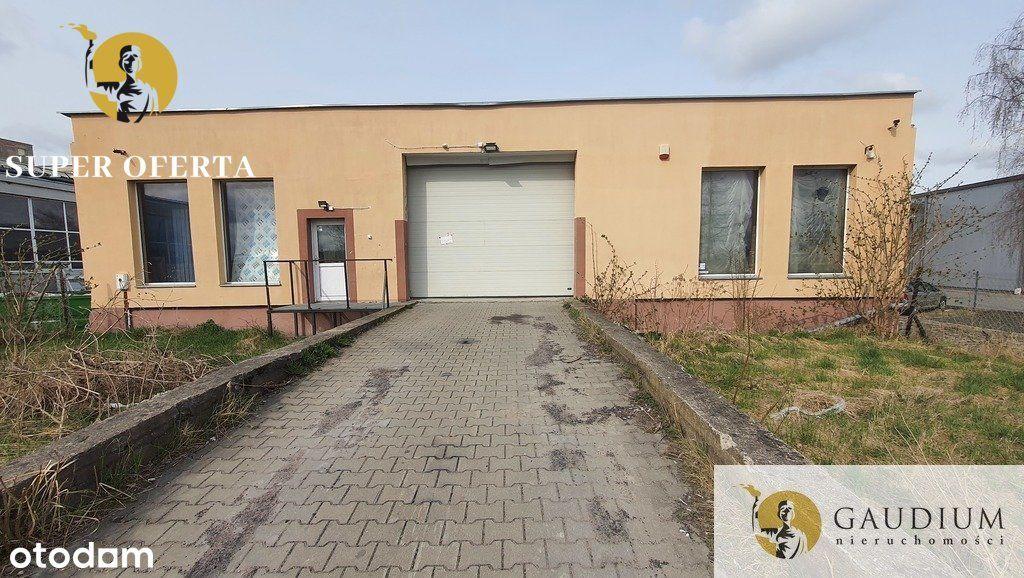 Obiekt magazynowo handlowy w Malborku.