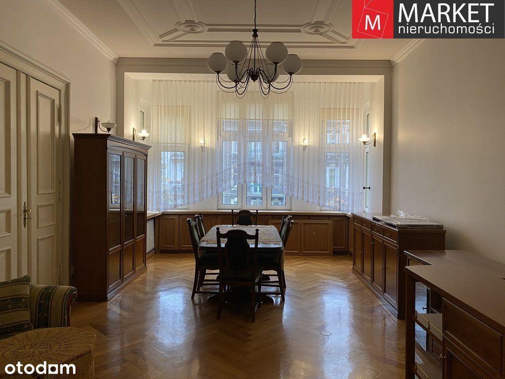 Na wynajem 119,8m2 mieszkanie w kamienicy Szczecin