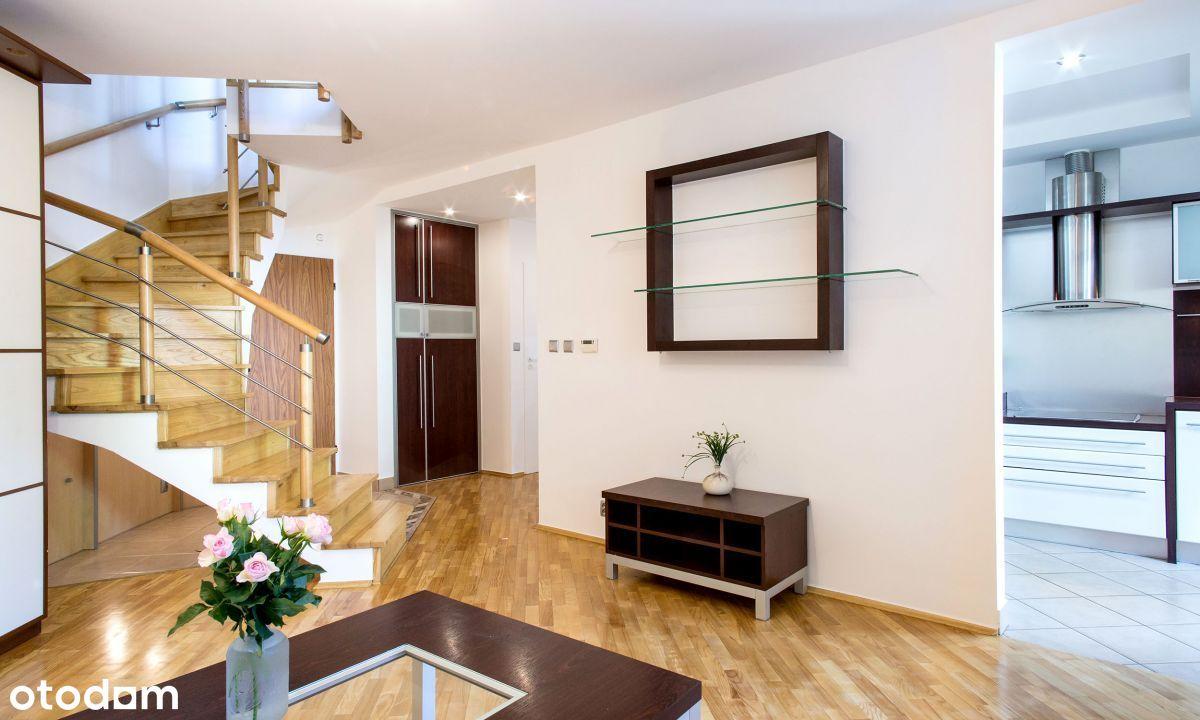 Dwupoziomowe ul. Reduta - wygodne 66 m2