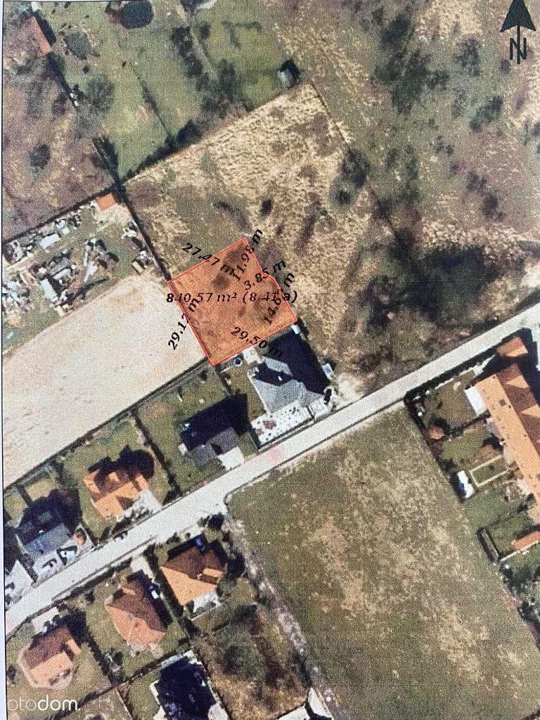 Działka budowlana, 840 m2, Zielona Góra - Racula