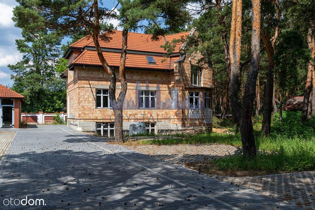 Villa 8 mieszkań w trakcie budowy Miedzeszyn Las