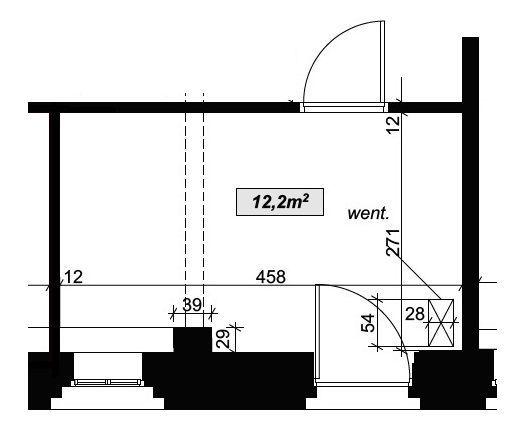Lokal biurowy 12,2 m2 Krasińskiego 10 Fabryka II