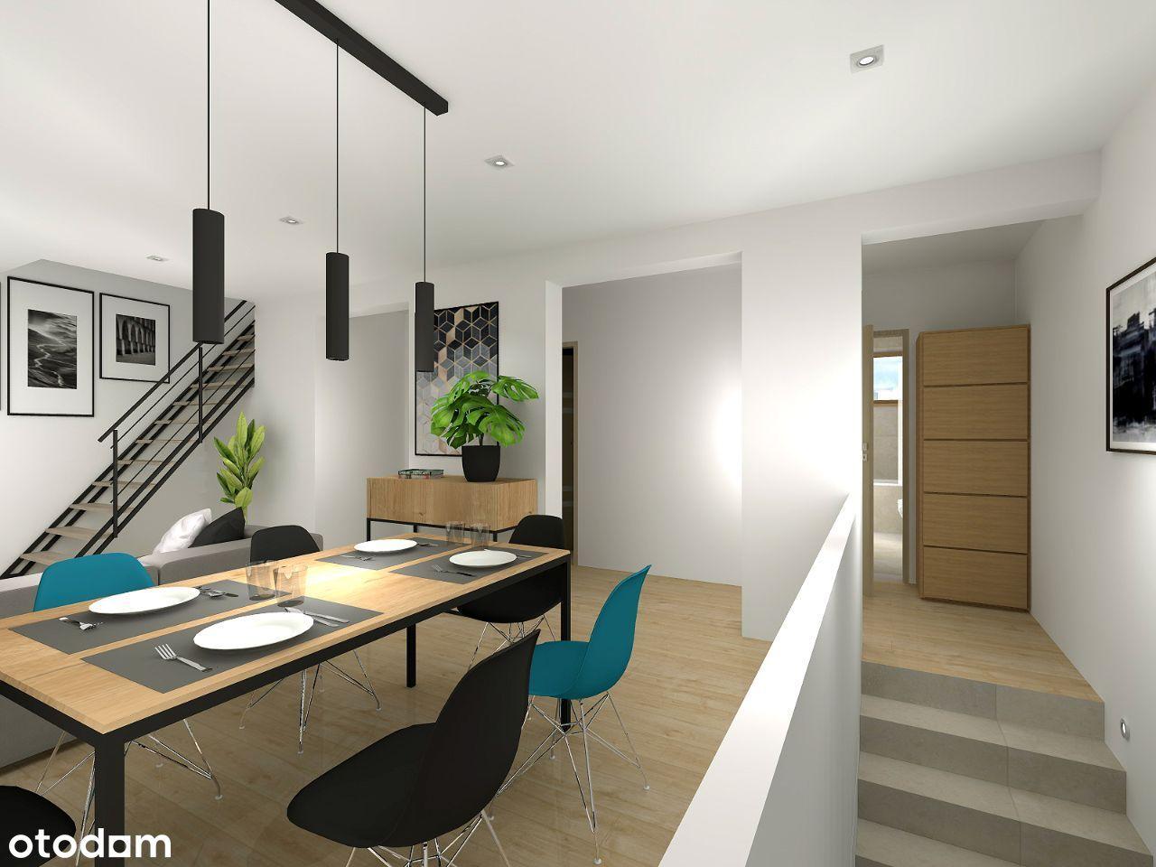APARTAMENT loggia +ogród 34 m2+parking - 389000 zl