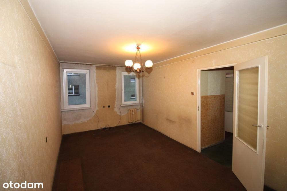 Objezierze 2 pokoje, osobna kuchnia do Remontu!