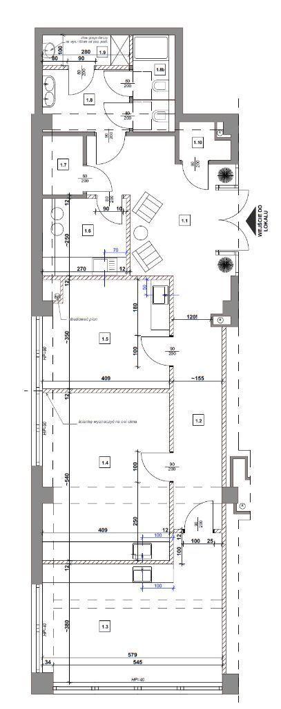 Lokal usługowy 110,75 m2 Santocka