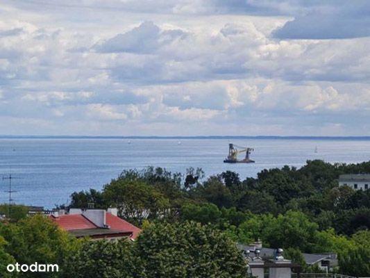 Piękne mieszkanie z widokiem na morze