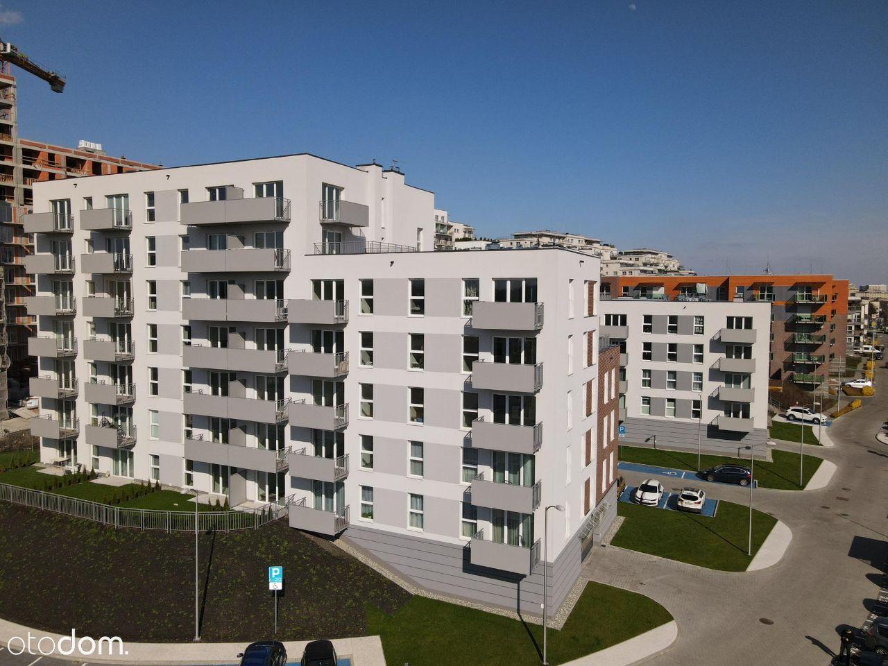 Nowoczesny Apartament 38m2, 2 pok. WYSOKIE RABATY!