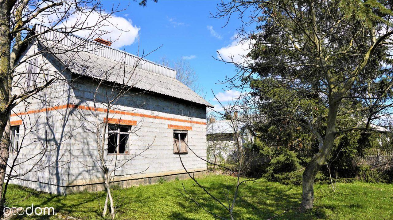 Niższa Cena Mały dom w Kawęczynie na sprzedaż