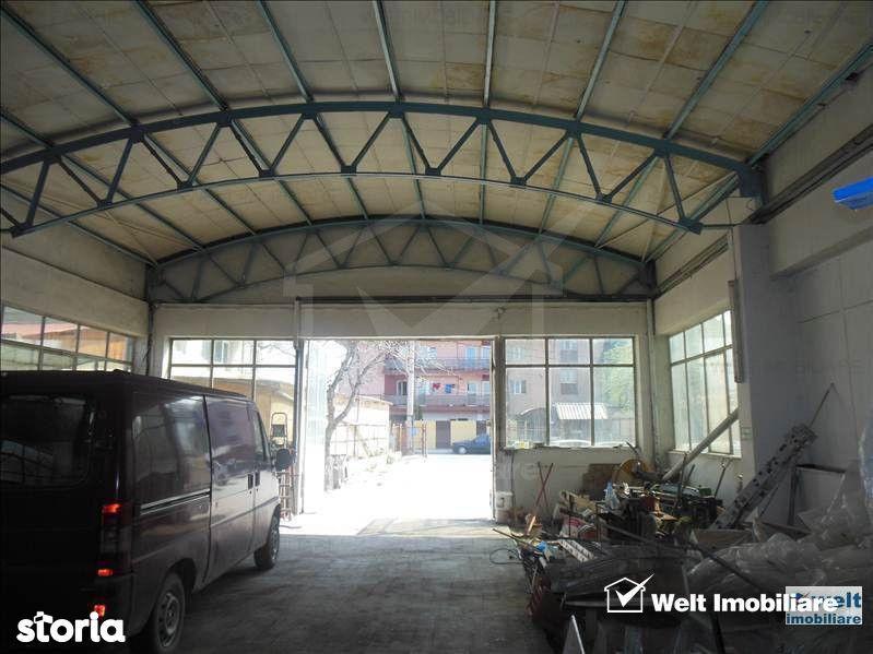 Vanzare hala in Marasti, zona Ira, teren 1600 mp, platforma betonata i