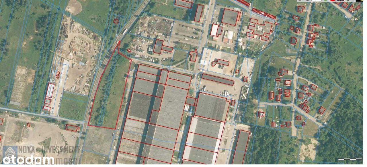 Teren Komercyjny W Centrum Zawiercia 13 462M2