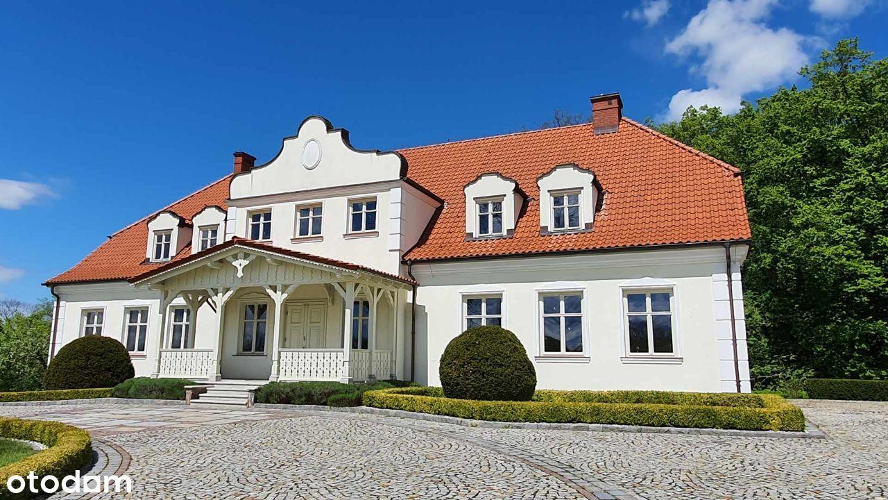 Dwór z parkiem + dom na Mazurach. Inwestycja.