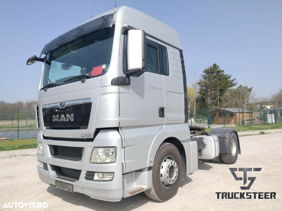 MAN TGX18, 11/2013, Euro 5, Kit Basculare, 540 CP, Webasto, Istoric complet - 1
