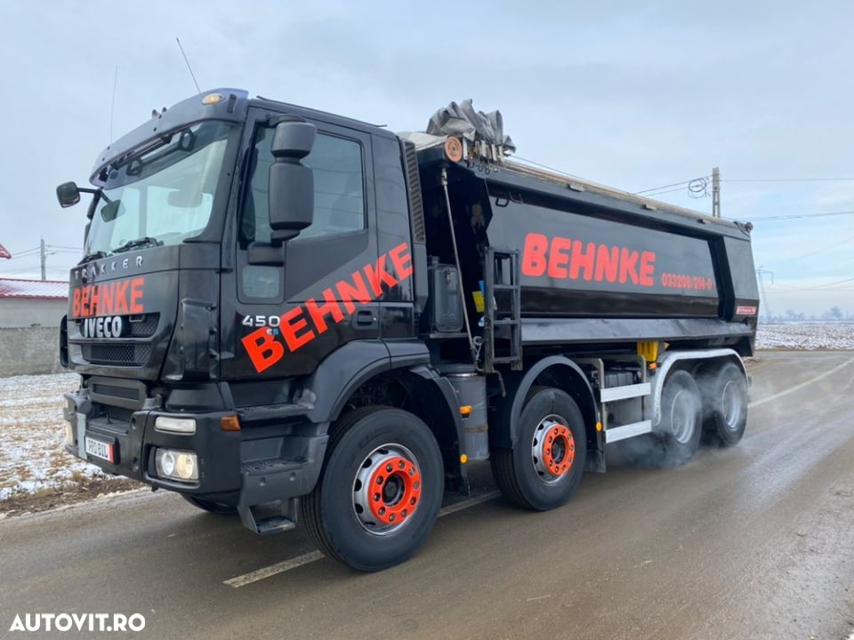 Iveco 8x4 man Iveco DAF - 6