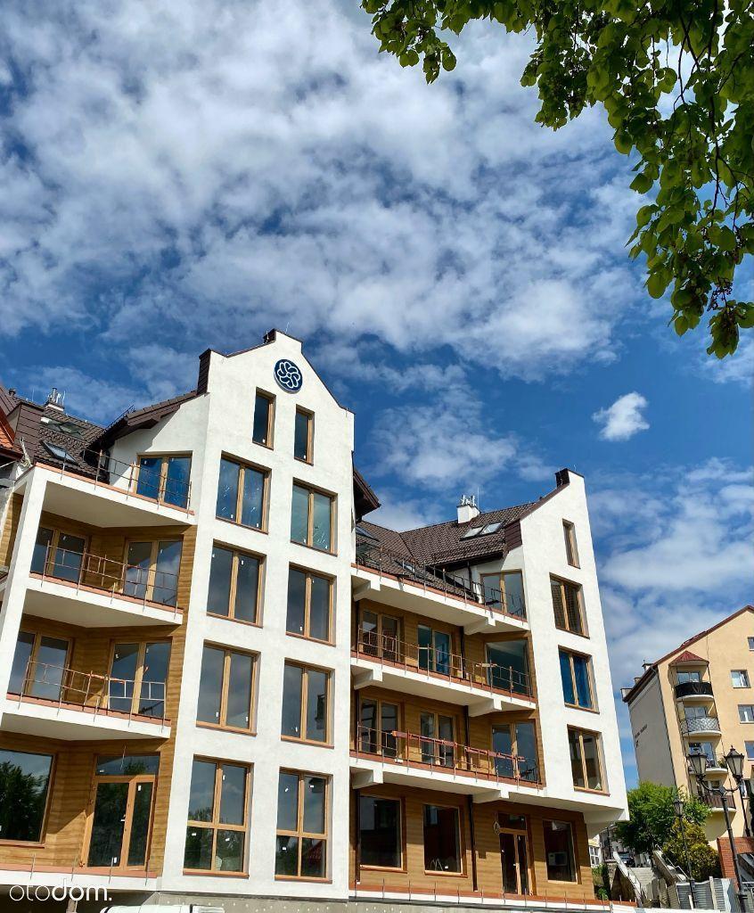 Dwupoziomowy apartament vis a vis Jeziora Ełckiego
