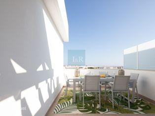 T2 com Terraço e Garagem em Cabanas de Tavira, Algarve