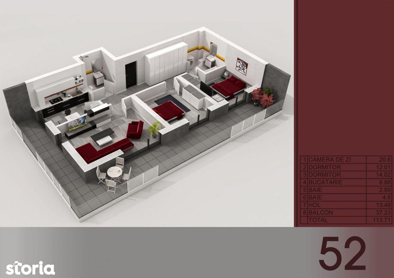 Apartament 3 camere-Metrou Titan -PARC I.O.R.