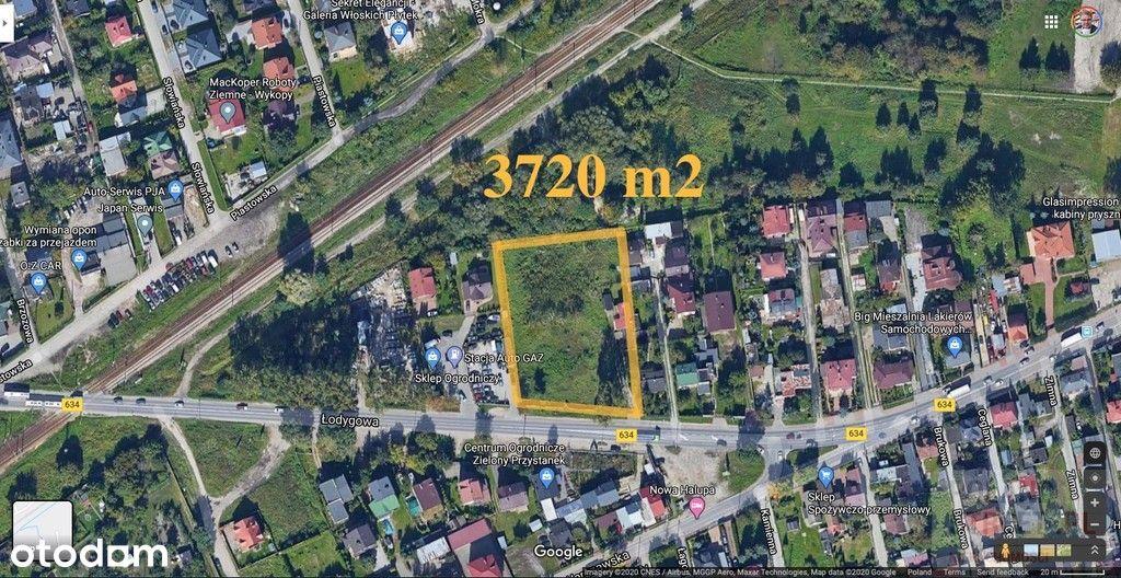 Działka inwestycyjna w Ząbkach 3730 m2