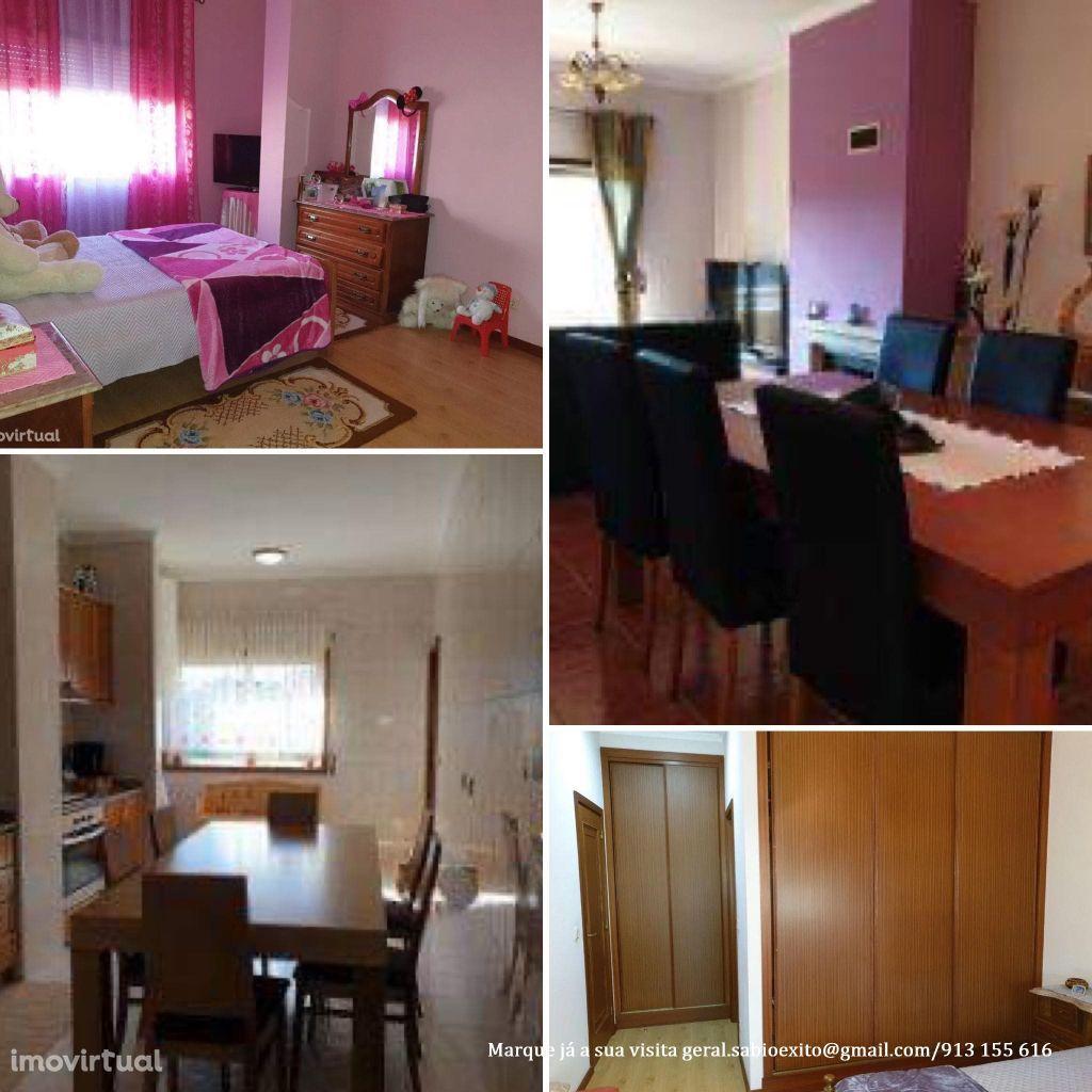 EXCLUSIVO - Fantástico Apartamento T3 com duas FRENTES E GARAGEM FECHA