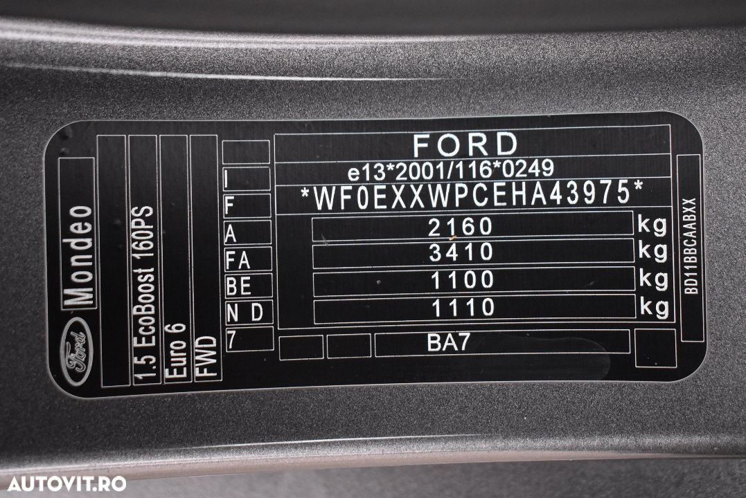 Ford Mondeo 1.5 - 33