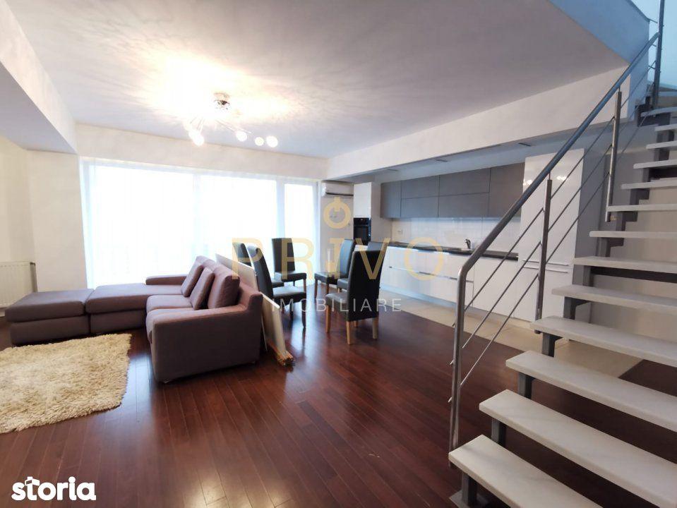 Penthouse 140 mp cu terase de 80 mp si garaj in Buna Ziua.