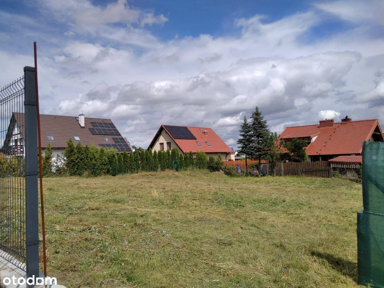 Działka budowlana blisko Centrum 969 m2 Chojnice