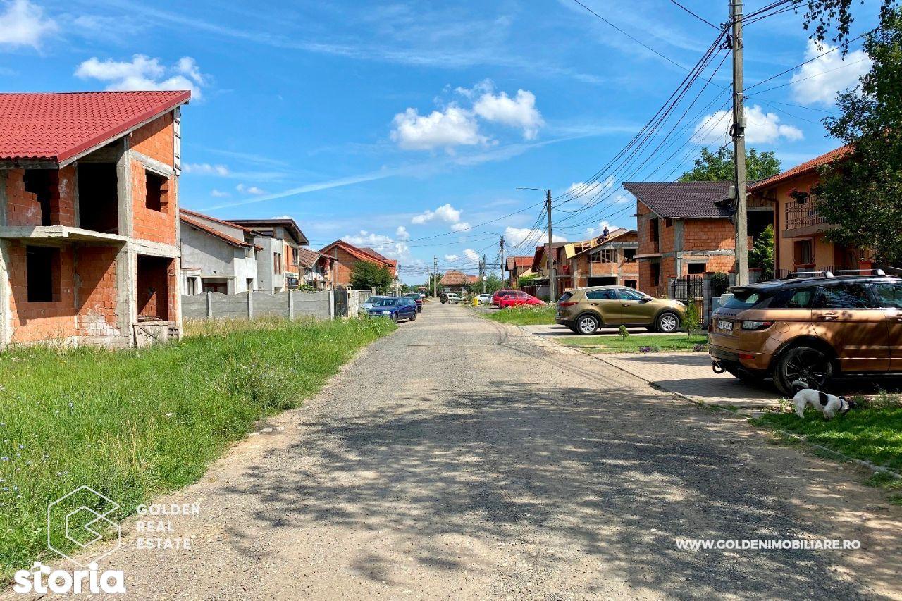 Teren intravilan pentru casa cu proiect si autorizatie, Aradul Nou