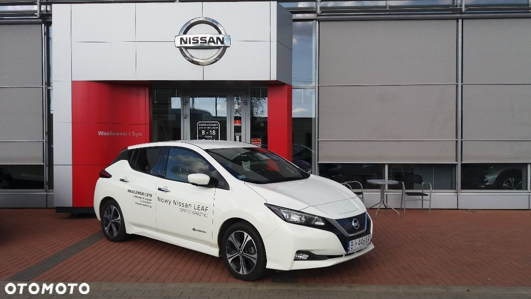 Nissan Leaf N CONNECTA 40 kWh + Full LED + ProPILOT + e Pedal 100% elektryczny - 17