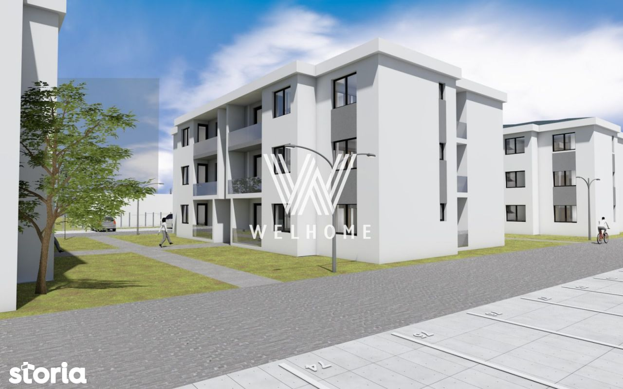 Apartament cu 2 camere, 55 mp, in Selimbar, Sibiu