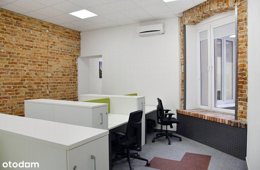Umeblowane biuro z klimatyzacją przy Piotrkowskiej