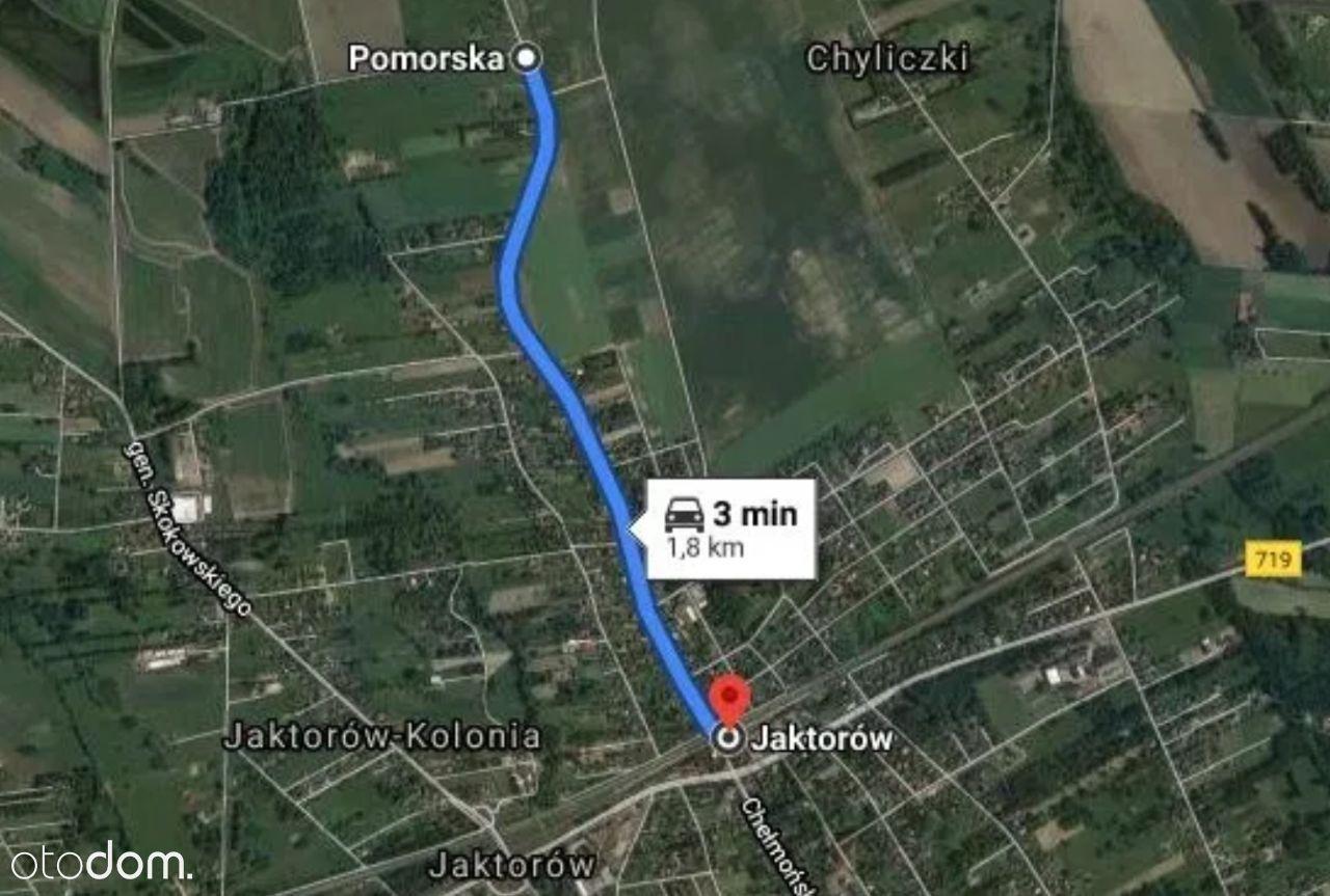 Działka - 1.8 km do PKP Jaktorów