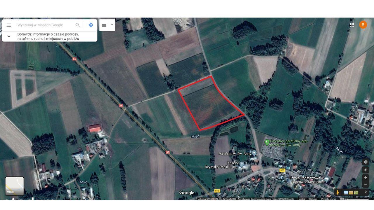 Działka 4,57 ha - Nowe Gierałty - obok DK 66.