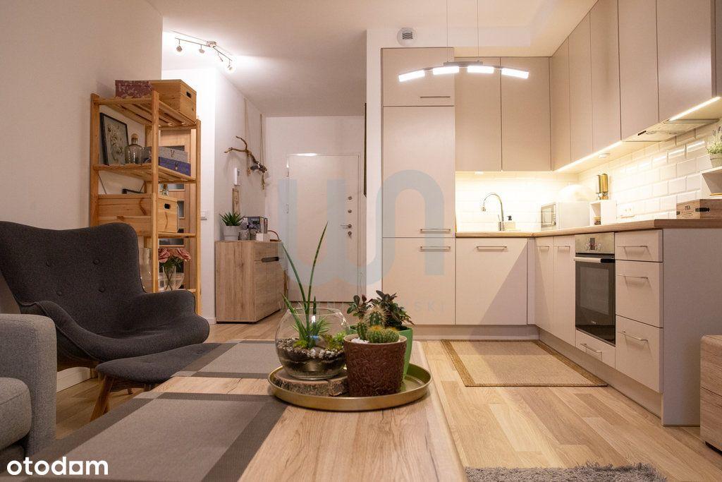 Metro City | duży balkon | Przytulne mieszkanie