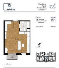 Wielicka 179, mieszkanie 18 MTW DEVELOPMENT