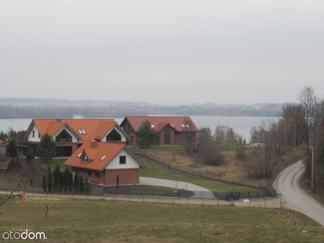 Majdy działka budowlana nad jeziorem Wulpińskim