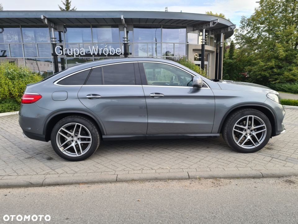 Mercedes-Benz GLE 350 d 4 Matic Coupe AMG salon Polska - 4