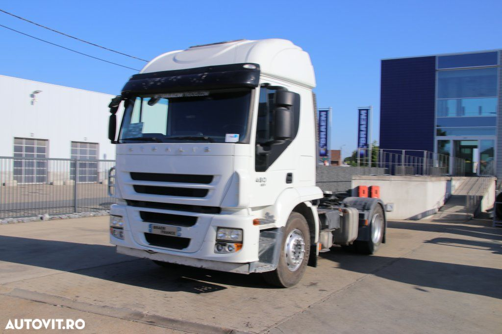Iveco STRALIS 480+ Manual + Hydr. - 263.600 km ! - 2