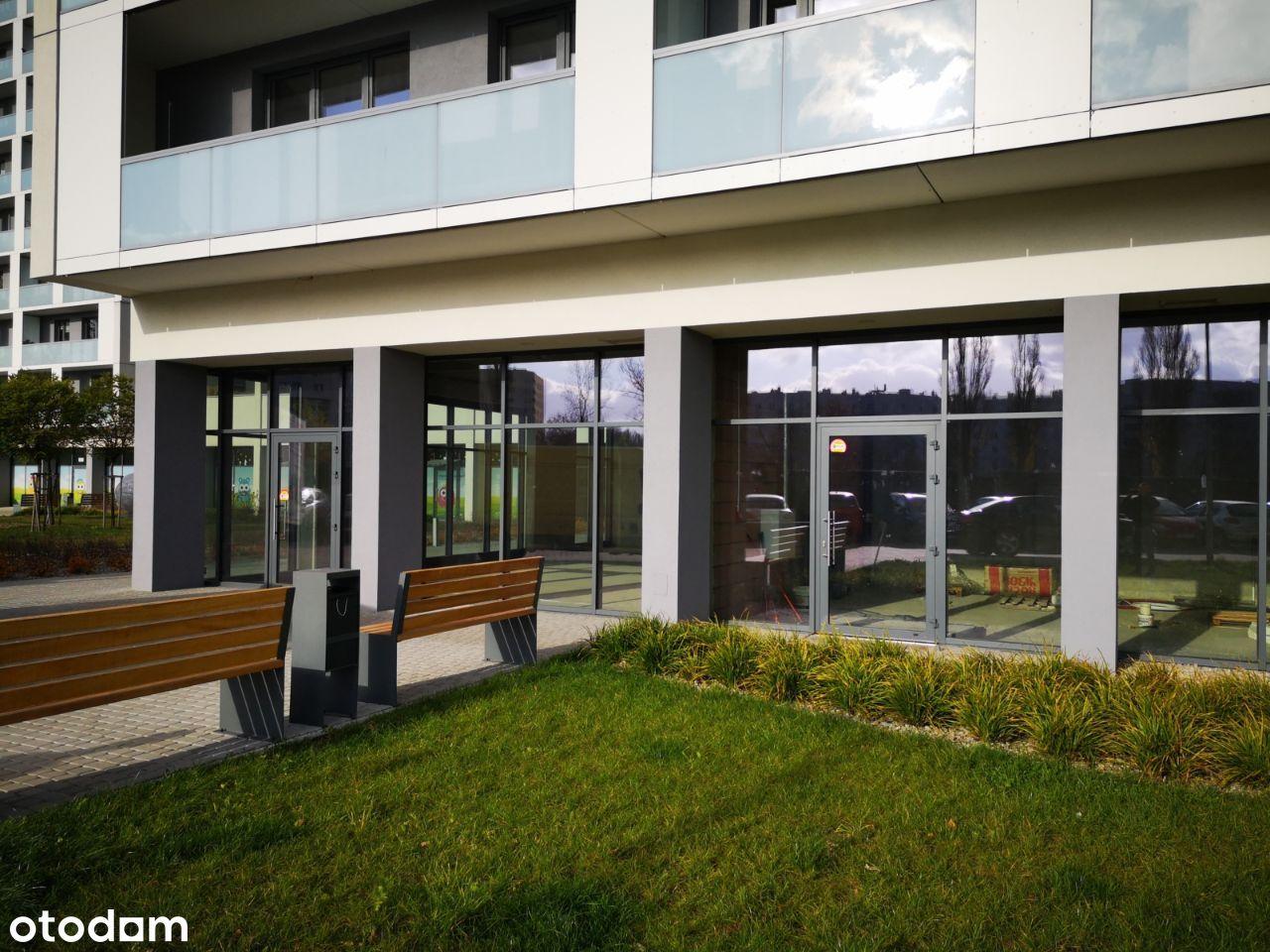 Lokal usługowy z witrynami 75 m2 ul. Fabryczna
