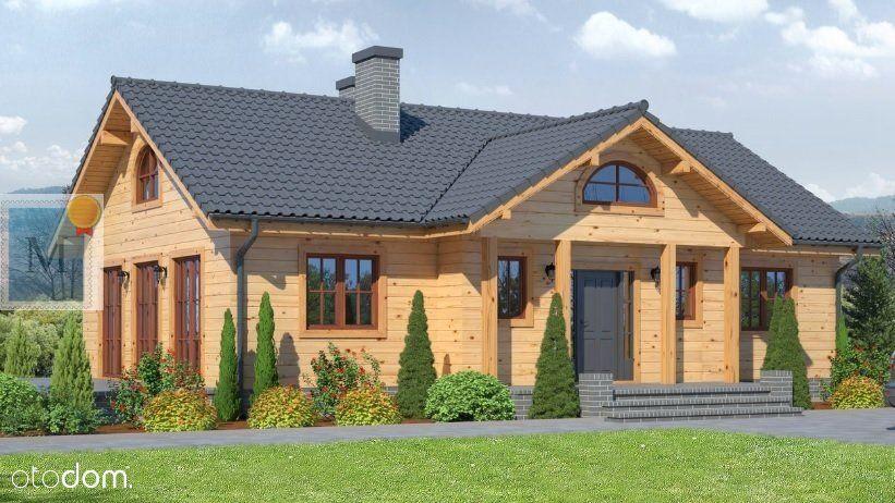 Dom drewniany z bala lub szkieletowy 104m2,Żary
