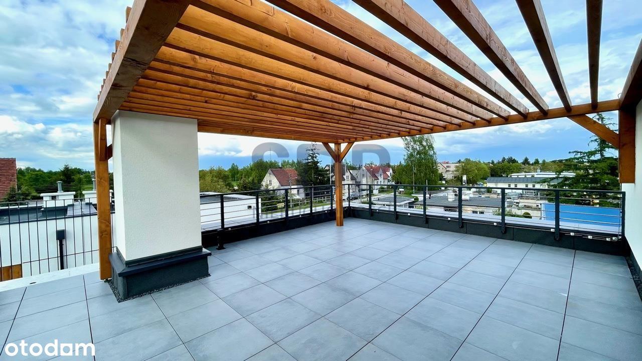 3-pokojowy apartament z tarasem na dachu