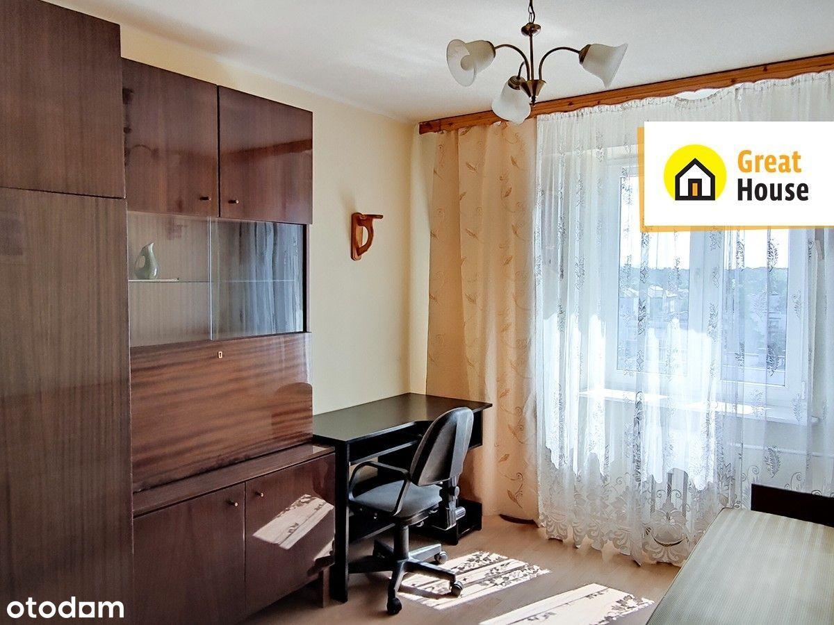 Barwinek, ponad 34 m2 - 2 pokoje bez piecyka