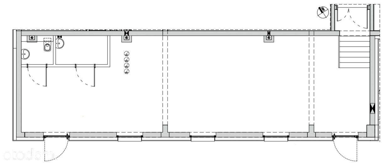 Lokal 82 m2, stan deweloperski - przy Odrze i ZOO